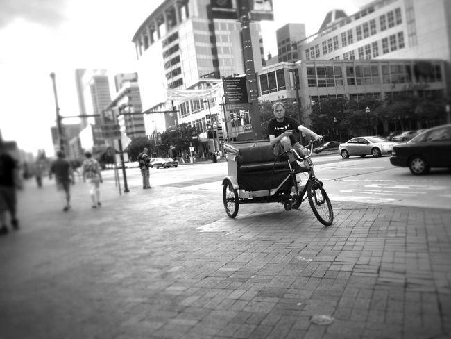 IPhoneography Blackandwhite Streetphoto_bw Rickshaw