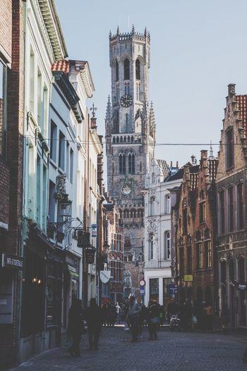 Brugge Bruges Brugge, Belgium Belgium Belfort Architecture Streetphotography