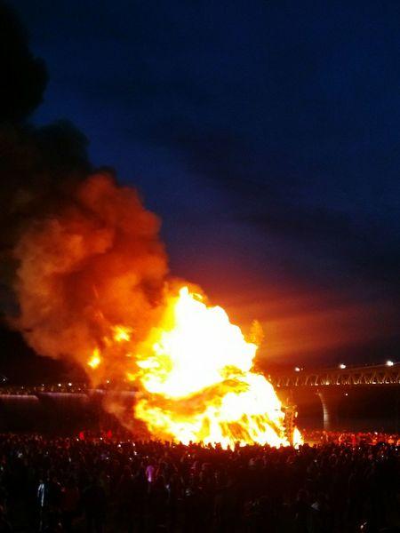 New Year Around The World Fire South Korea