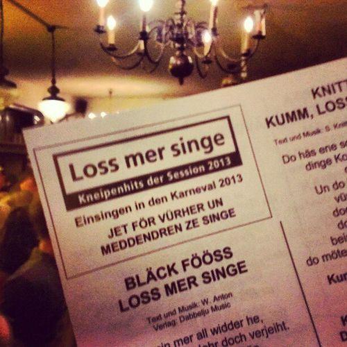 Loss mer singe... #LossMerSinge ;-) #Alaf Alaf Lossmersinge