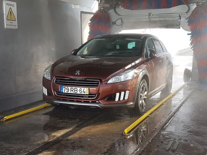 Peugeot Peugeot 508 RXH Carwash Car Wet No People Outdoors Day