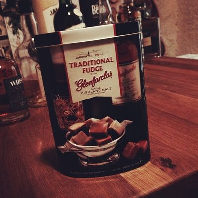 Apéritiv: Traditional Fudge with Glenfarclas from Gardiner's of Scotland #whiskySBH Whiskysbh