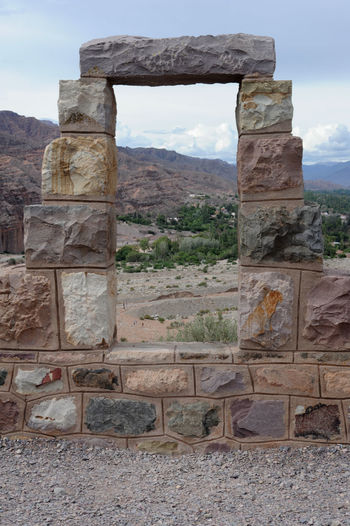 Ancient Ancient Civilization Archeological Site Architecture Argentina Built Structure Day History Jujuy Mountain Nature No People Old Ruin Outdoors Pucara Rock - Object Sky The Past Tilcara Travel Destinations