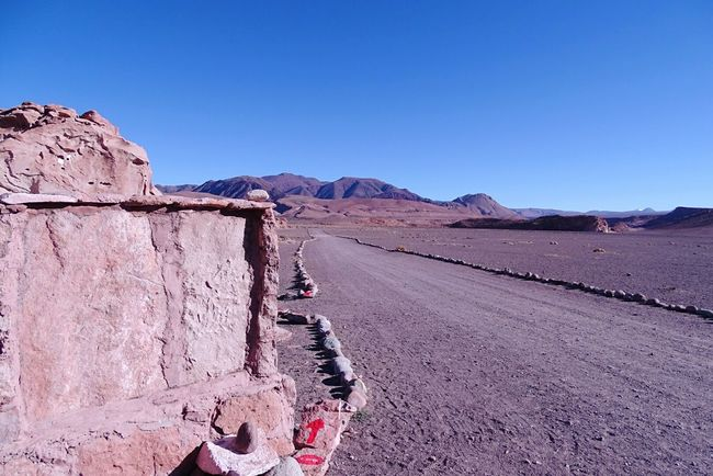 Ice Age Clear Sky Blue Copy Space Mountain Scenics Tranquil Scene Day Tranquility Beauty In Nature Nature Outdoors Remote No People Mountain Range Stone Non-urban Scene Sand Arid Climate Chile♥ Rock Formation Stone Material Geology Solid Arid