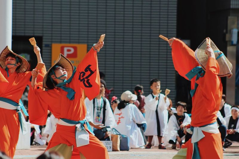 Group Of People Arts Culture And Entertainment Real People Crowd Architecture Performance Large Group Of People Lifestyles Dancing Festival Day