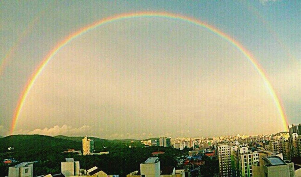 Double Rainbow . today