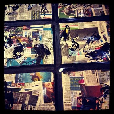 Arte Collage Negua sin concluir