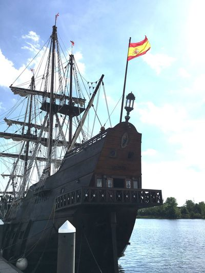 Tall Ships Sails Up Port City Masks Water Sailing Ship JustGPhotos Eye4photography  Taking Photos My Commute