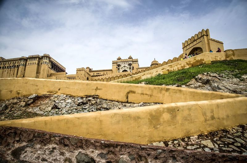 Amber Fort - Jaipur Travel Jaipur Amber Fort Yellow India Ancient Civilization City Ancient History Fort Castle Archaeology