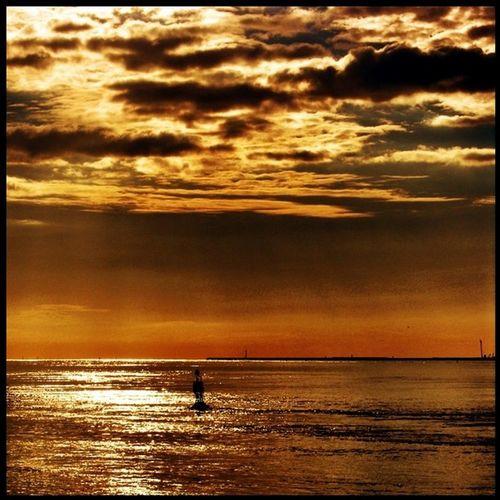 #normandy #france #honfleur #sunset #sky #clouds #sea Clouds Sea Sunset France Sky Normandy Honfleur