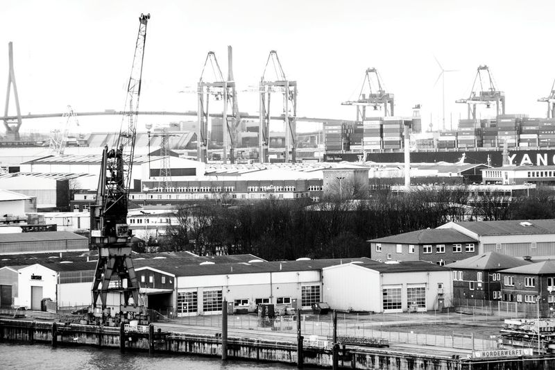Backgrounds Harbour View Elbphilharmonie Hamburg Harbourview Hamburg Harbour Hamburger Hafen Transportation City Harbour Cranes Harbour Life Nautical Vessel Architecture Cityscape Water