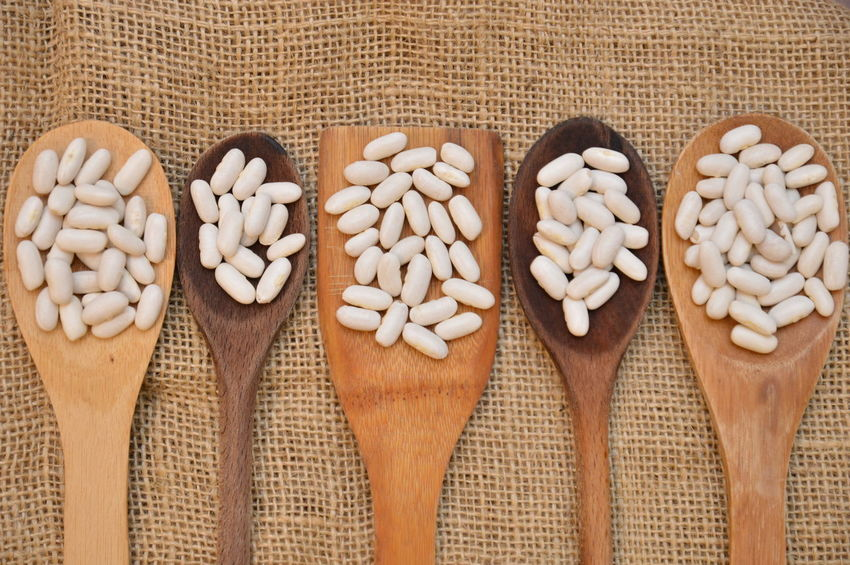 white beans Indoors  Food And Drink Wood - Material No People Pattern Close-up Freshness Day Food Stories