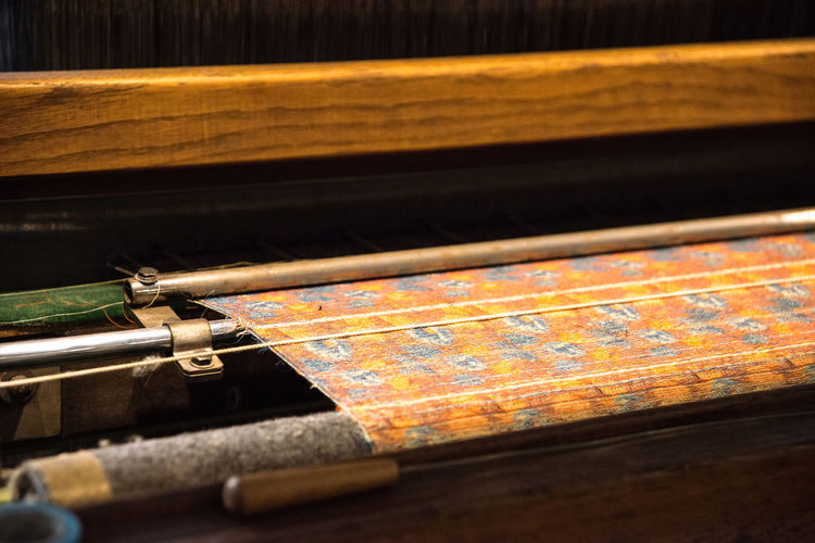 At the Toyota Museum in Nagoya, Japan Antique Close-up Detail Fabric Loom Old Part Of Selective Focus Tailored To You Tapestry Textile Textile History Textile Industry Textile Machinery Weaving Loom Weaving Machine Wood - Material Ultimate Japan