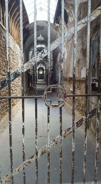 Architecture No People Built Structure Indoors  Prison Bars Doorway Pennsylvania Penitentiary Haunted Places