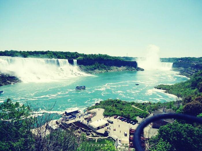 Niagara Falls :) Taking Photos Check This Out Hello World Enjoying Life USA Amerika USAtrip America Niagara Falls Canada Nature