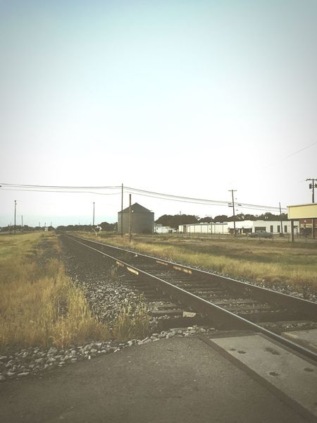 TrainTrack Check This Out Hanging Out Hello World Hi! Taking Photos Enjoying Life Scenery Pretty Summer Outdoors Hello World Downtown Texas Railroad Track Train Train Tracks Rustic Antique Road Driving Train Station Fun Random Finding New Frontiers