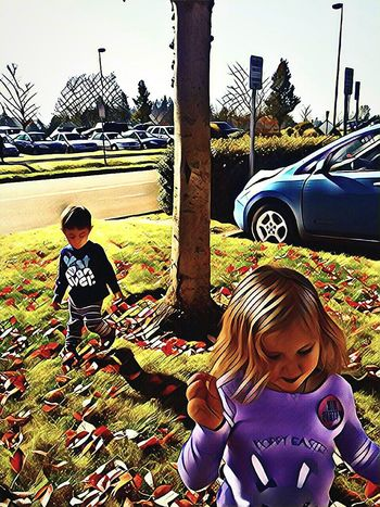 Let the children BE the children!Childhood Children Only Outdoors Togetherness Real People Day Razzle Dazzle The Way Forward EyeEm Team Eyeem Market The Week On EyeEem Seriously Beautiful Moments Of Life Delights Of Life EyeEm Master Class Telling Stories Differtenly Beautifully Organized Streamzoofamily Car Motion Hospital Life Bonding Two People Tree Embrace Urban Life
