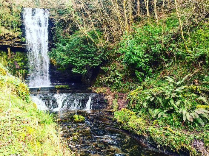 Glencar Waterfall Waterfall Stream County Leitrim Republic Of Ireland Ireland Glencar Waterfall