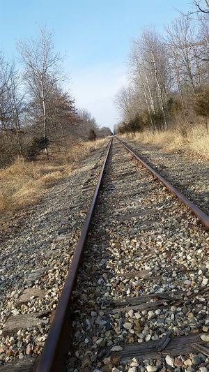Train Tracks Pure Michigan The Purist (no Edit, No Filter) Chesaning Summer Views Summertime Summer Vibes Long Walks