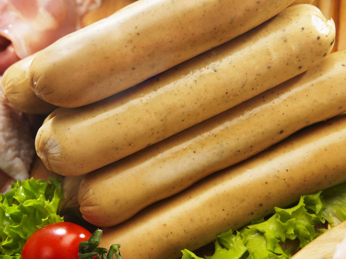 stack of sausages Meal Poultry Raw Stack Cherry Tomatoes Close-up Day Food Food And Drink Fresh Freshness Healthy Eating Indoors  Lettuce Meat No People Preparation  Preparing Food Raw Food Sausage Still Life Tomato Vegetable