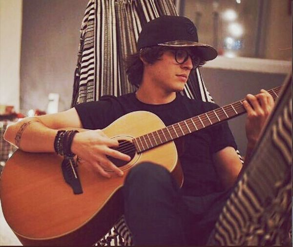 christopher velez CNCOwners Cnco CNCOBaby♥ Christopher Velez Music Musical Instrument Musician Guitar Playing Arts Culture And Entertainment String Instrument