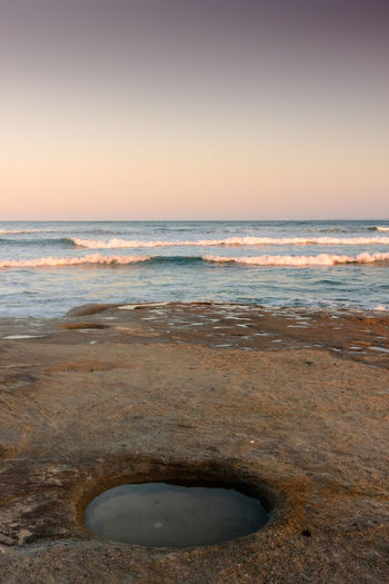 Hole In The Rock Australia Beach Caloundra Coastline Getting Away From It All Horizon Over Water Ocean Outdoors Queensland Sand Sea Seascape Shore Summer Surf Tranquility Vacations Water Wave