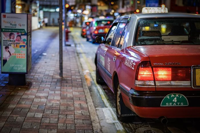 HK TAXI HongKong Discoverhongkong Beautiful Nightshooters Streetphotography Bokeh Handheld EyeEm Masterclass EyeEm Best Shots EyeEm Best Edits EyeEm Gallery Taking Photos Hello World From My Point Of View Walking Around Our Best Pics Found On The Roll Sonyimages Ilce-7m2 Sel50f14z Urban Exploration Street Photography Taxi Night Lights Nightphotography