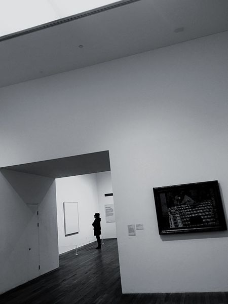 Blackandwhite Culture Arr In A Gallery One Person Architecture Real People Built Structure Full Length Indoors  Men People Day