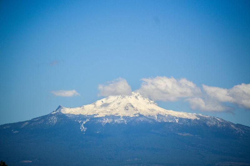 Idyllic Shot Of Malinche Against Sky