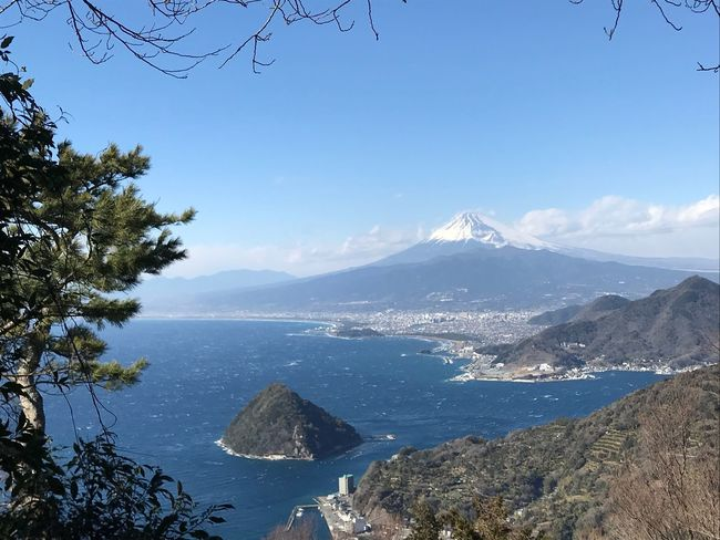 Mount Fuji Sea And Sky Mountain Beauty In Nature No People