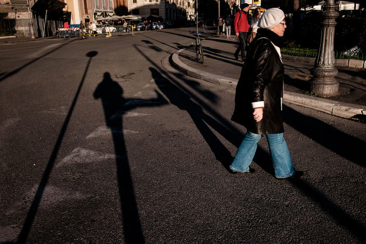 Street shot, Rome Candid City Colors Full Length Outdoors People Shadow Streetphoto_bw The Street Photographer - 2017 EyeEm Awards UNPOSED Urban Urban Phenomenology