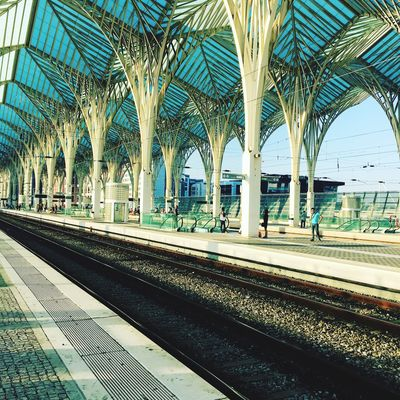 Oriente Parquedasnacoes Parque Das Nações Lisboa Lisboa Portugal Estaçaodecomboios