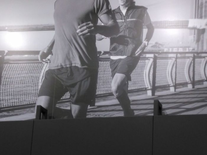 EyeEmNewHere Sports Uniform Young Adult Sports Clothing Sport Two People Looking At Camera Human Body Part Portrait Flexibility Balance The Secret Spaces Human Leg Scenics