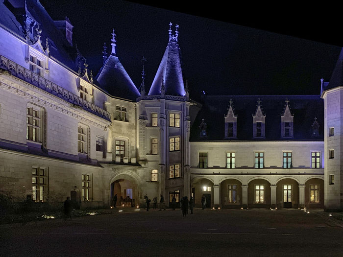 France🇫🇷 Blésois Château Chaumont-sur-Loire Histoire Nuit Illumination Illumine Illuminated Night Architecture The Past