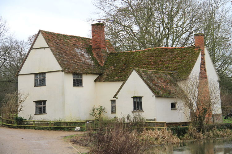 Willy Lotts House Flatford Mill John Constable