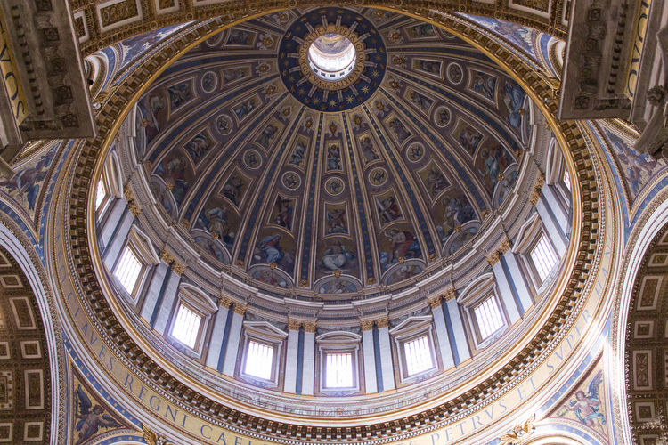 Low angle view of dome
