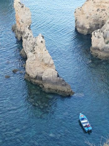 High Angle View Water Sea Day Nautical Vessel Nature Blue Outdoors No People Beauty In Nature Sea Scenics Travel Destinations