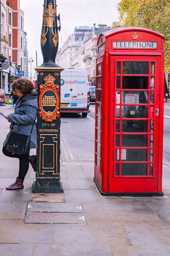 City Of London Icon Red Iconic Red Booth Stories From The City #urbanana: The Urban Playground