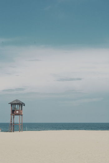 Sea Water Sky Horizon Over Water Architecture Horizon Beach Land Built Structure Nature Safety Scenics - Nature Security No People Protection Man Made Structure Tranquility Tranquil Scene Beauty In Nature Outdoors