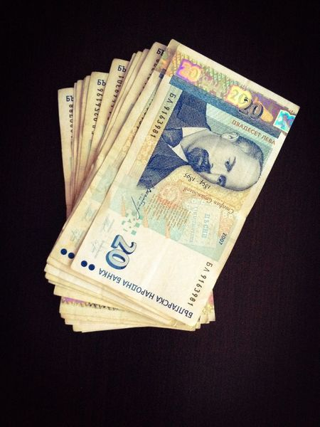 Money Bulgarian Money Money Lev Desk Corruption