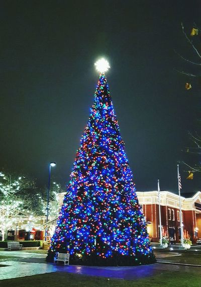 Easton Mall Christmas Tree Christmas Lights Xmas Xmas Tree Columbus, Ohio Lights Holiday Lights Holiday Lighting