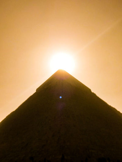 Pyramid Cairo Egypt Luxor Sanddunes Travelegypt Sunset Silhouette Eyesight Sunset Adventure Road Trip Landscape Ethereal Nature Sky Day Outdoors