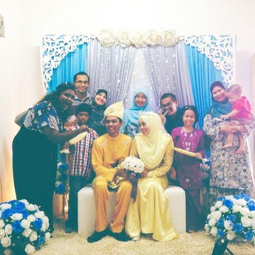 💖💞👰 And so the adventure begins. Congratulations. PenangMarii WeddingAqma &Zul My2015adventures