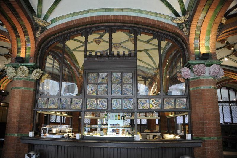 Nouveau Bar Architecture Built Structure Day Indoors  No People Nouveau Nouveau Bar Travel Destinations Vaulted Ceilings