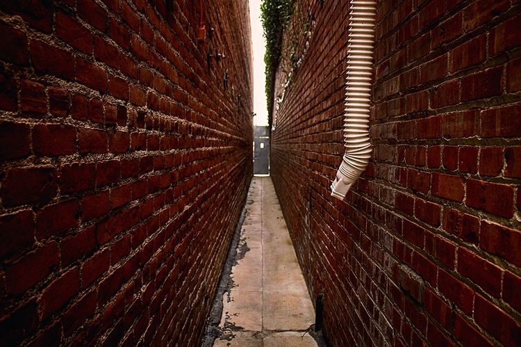 Keep walking down the pathway. Path Journey Canon Camera Photography Door Walls
