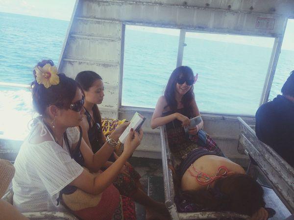 The Traveler - 2015 EyeEm Awards Ishigaki  Island Ferry Girls Trip