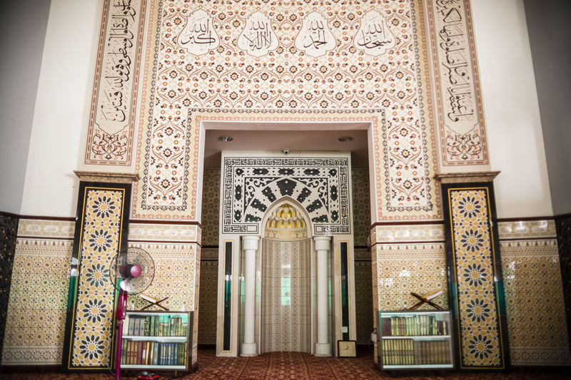 Arch Architectural Feature Architecture Art Art And Craft Building Exterior Built Structure Creativity Design Door Entrance Indoors  Low Angle View No People Ornate Pattern Place Of Worship Religion Spirituality Window