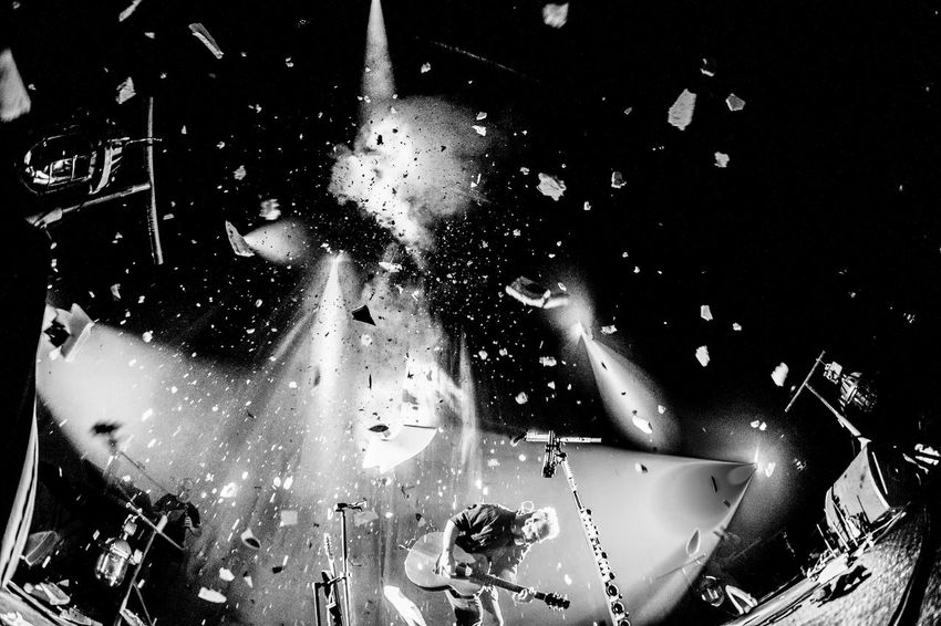 Best EyeEm Shot Explosion Music Arts Culture And Entertainment Black And White Boom Celebration Close-up Concert Concert Photography Explosions In The Sky Indoors  Motion Music Photography  Performance Photo Of The Day Real People