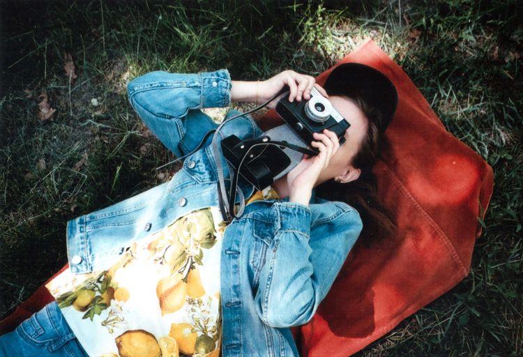 Summer Exploratorium 35mm 35mm Film Analogue Photography EyeEm Best Shots EyeEm Nature Lover EyeEmBestPics Olympus Grass Lemon Mju2 Mjuii Outdoors Photography Photography Themes Real People Smena8m Springtime Weekend Activities