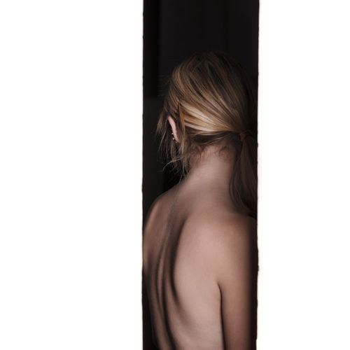 The Line series Canon5DSR Canon5ds The Portraitist - 2017 EyeEm Awards The Week On EyeEm Open Edit Portrait Of A Woman Portrait Only Women Adult Adults Only People One Young Woman Only Beauty Beautiful Woman Studio Shot Shoulder Back Human Back Indoors